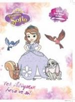 Disney Prenses Sofia Sihirli Sulu Boya Kitabı