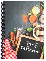 Container Yemek Tarif Defteri / Spice 47197-6
