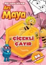 Arı Maya - Çiçekli Çayır  Boyama Kitabı