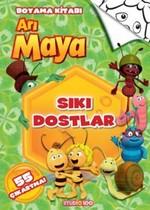 Arı Maya - Sıkı Dostlar  Boyama Kitabı