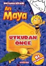 Arı Maya - Uykudan Önce Boyama Kitabı