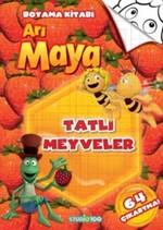 Arı Maya - Tatlı Meyveler Boyama Kitabı