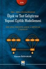 Ölçek ve Test Geliştirme Yapısal Eşitlik Modellemesi