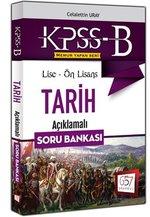 2016 KPSS-B Lise-Ön Lisans Tarih Açıklamalı Soru Bankası