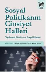 Sosyal Politikanın Cinsiyet Halleri - Toplumsal Cinsiyet ve Sosyal Hizmet