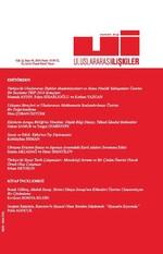 Uluslararası İlişkiler Dergisi Cilt: 12 Sayı: 48