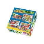 Harika Kanatlar Puzzle 24-36-48-60 Parça 4 Lü Kutu Puzzle