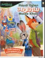 Disney Zootropolis Hayvanlar Şehri 3 Boyutlu Maske Kitabı