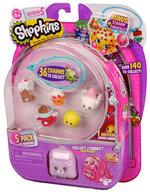 Shopkins Cicibiciler 5'Li S5-56251 Hpk41010