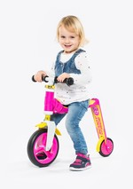 Scoot And Ride Scooter Highwaybaby Plus Pink/Yellow (216272) Sctrdesct006