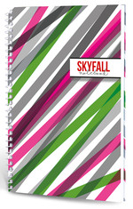 Lecolor Skyfall Notebook 17X24 Spiralli 120 Yp Çizgili 2016030/1