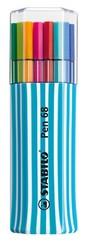 Stabilo Pen 68 Single Pack 15'li Mavi 6815-01-3-5