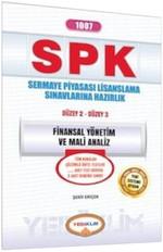 Yediiklim SPK 1007 Finansal Yönetim ve Mali Analiz