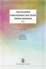 Türk Dillerinin Karşılaştırmalı Şekil Bilgisi Üzerine Denemeler - Fiil