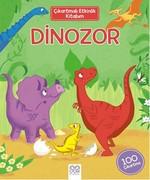 Çıkartmalı Etkinlik Kitabım - Dinozor