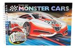 Monster Cars Cep Boy Boyama Kitabı 6245