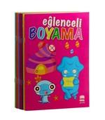 Eğlenceli Boyama Seti - 10 Kitap Takım