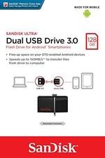 SanDisk Ultra Android Dual USB Drive 128GB Black SDDD2-128G-GAM46
