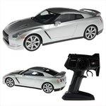 MJX RC Nissan GT-R R35 Silver 1/14 Araba