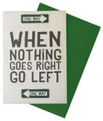 Legami Nothing Goes Right Kart K054185