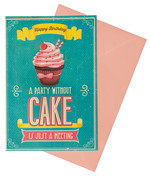 Legami Lovely Bırthday Cake Kart K060807