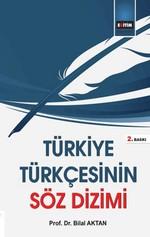 Türkiye Türkçesinin Söz Dizimi