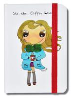 Nihi Defter Çizgisiz 11x7.5 - Coffee