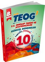 8. Sınıf TEOG 1 T.C. İnkılap Tarihi ve Atatürkçülük 10'lu Güncel Denemeler