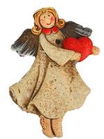 Vintage Label Figür Uçan Melek Asma 96Lı