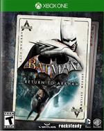 Batman Return to Arkham XBOX1