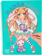 Top Model Manga Boyama Kitabi 8516