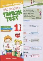 1.Sınıf Tüm Dersler Yaprak Test