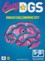 Easy DGS Dikkati Güçlendirme Seti 5-8 Yaş A