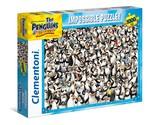 Clementoni  Puzzle 1000 Impossible Penguins 39362