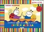 Büyülü Ada'da Uğurböceği Sevecen ile Salyangoz Tomurcuk -Boyama Kitabı