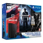 Sony PS4 1 TB Driveclub + Uncharted 4 + The Last of Us Remastered