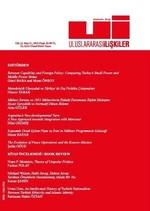 Uluslararası İlişkiler Dergisi Cilt: 13 Sayı: 51