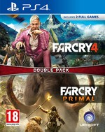 Far Cry 4 & Far Cry Primal Double Pack PS4