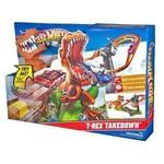 Hot wheels çılgın dinazor oyun seti t-rex T Rex FFW79