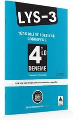 LYS 3 4'lü Deneme Türk Dili ve Edebiyatı Coğrafya 1