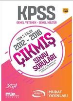 KPSS Genel Kültür Genel Yetenek 2012 2016 Çıkmış Sınav Soruları