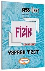 ÖABT KPSS Fizik Yaprak Test Çek Kopart 2017