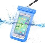 Celly Su Geçirmez Akıllı Telefon Kılıfı Mavi SPLASHUNILB