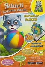 Hayvanat Bahçesi Sihirli Boyama Kitabı