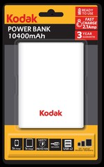 Kodak  Power Bank 10400 mAh 30414143-ST1