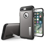Spigen iPhone 7 Plus Kılıf, Slim Armor Gun Metal