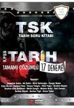 TSK Tarih Soru Kitabı KPSS Tarih Tamamı Çözümlü 17 Deneme