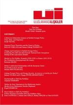 Uluslararası İlişkiler Dergisi Cilt:13 Sayı:52