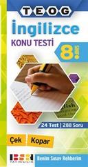 8. Sınıf İngilizce Konu Testi