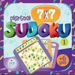 7x7 Çıkartmalı Sudoku 1